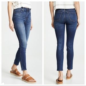 "Madewell 9"" High rise skinny Jeans Sz 29"